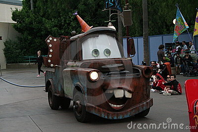Disney s California Adventure Parade Editorial Stock Photo
