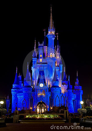 Disney s Cinderella Castle Editorial Image