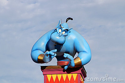 Disney s Genie Editorial Stock Image