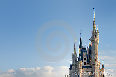 Disney s Magic Kingdom Editorial Image