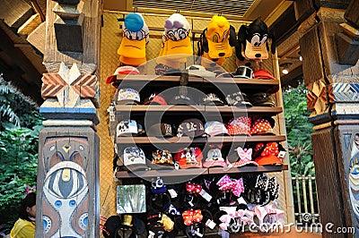 Disney-Speicher in Hong Kong Disney Redaktionelles Bild