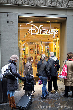 Disney store florence editorial stock photo image 22485513 for Dream store firenze