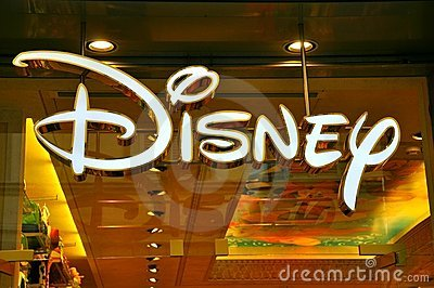 Disney store logo Editorial Stock Photo