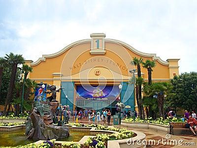 Disney studios paris Editorial Stock Image