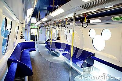 Disney Train Editorial Stock Image