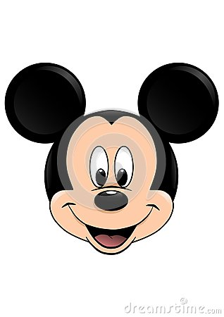 Free Disney Vector Illustration Of Mickey Mouse Isolated On White Background Stock Image - 114430651