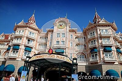 Disneyland Παρίσι Εκδοτική Εικόνες