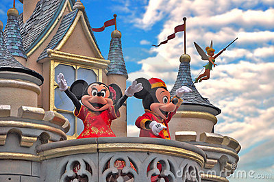 Disneyland Editorial Stock Photo