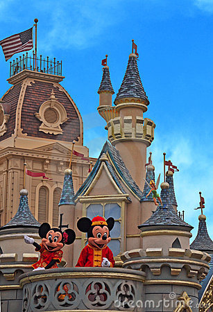 Disneyland Editorial Image