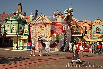 Disneyland Editorial Stock Image