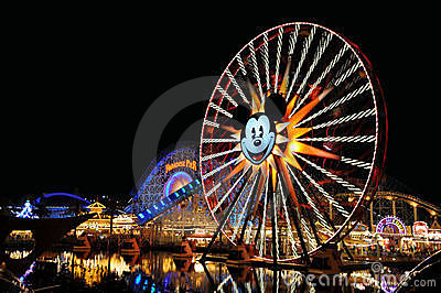 Disneyland California Adventure Editorial Stock Image
