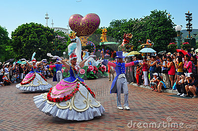 Disneyland fairy characters Editorial Stock Image