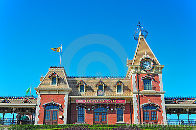 Disneyland hong kong Editorial Stock Photo