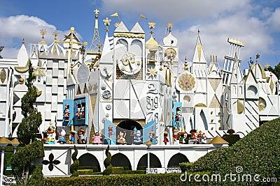 Disneyland liten värld Redaktionell Arkivfoto