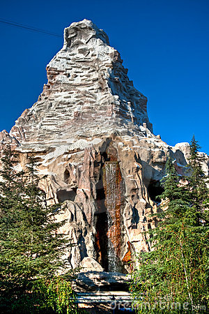 Disneyland Matterhorn Editorial Stock Image
