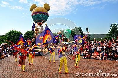 Disneyland parade Editorial Photography
