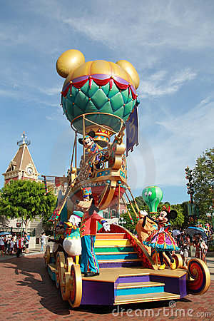 Disneyland Parade Editorial Photography