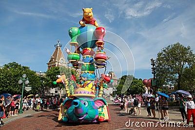Disneyland Parade Editorial Stock Photo