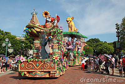 Disneyland Parade Editorial Image