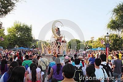 Disneyland parade Editorial Photo