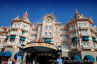 Disneyland Parigi Fotografia Editoriale