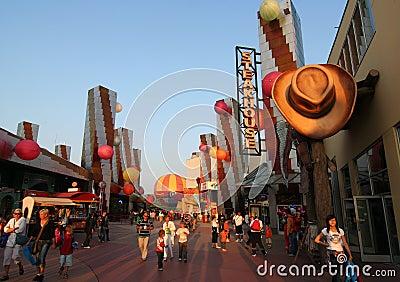 Disneyland Parijs Redactionele Fotografie