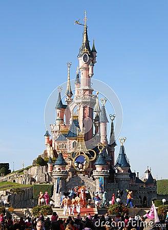Disneyland Parijs Toont Redactionele Stock Afbeelding