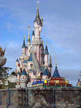 Disneyland paris Editorial Stock Image