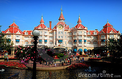 Disneyland Paris Editorial Stock Photo