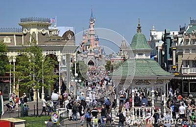 Disneyland Paris Editorial Photography