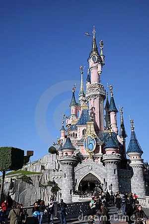 DISNEYLAND PARIS Editorial Image