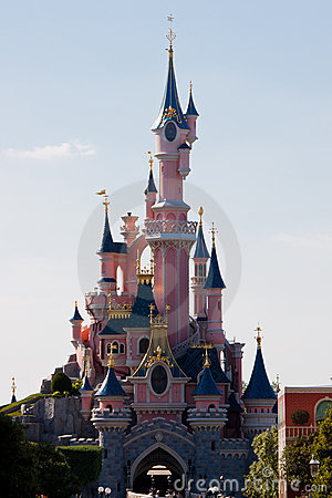 Disneyland Paris Castle Editorial Stock Photo