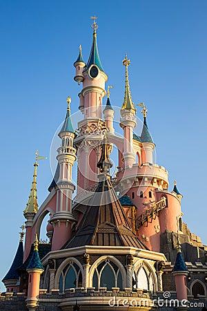 Disneyland Paris Castle Editorial Photo