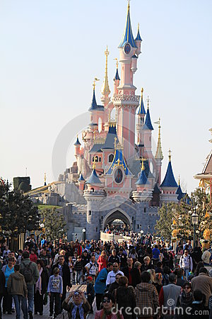 Disneyland Paris Editorial Photo