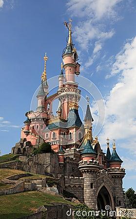 Disneyland Paris-Princesse's Castle Editorial Stock Photo