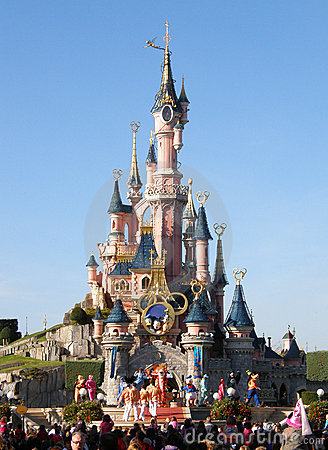 Disneyland Paris Show Editorial Stock Image