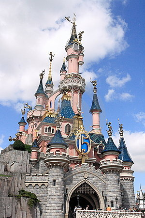 Disneyland Park near Paris Editorial Image