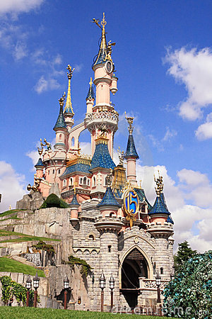 Disneyland Park near Paris Editorial Stock Photo
