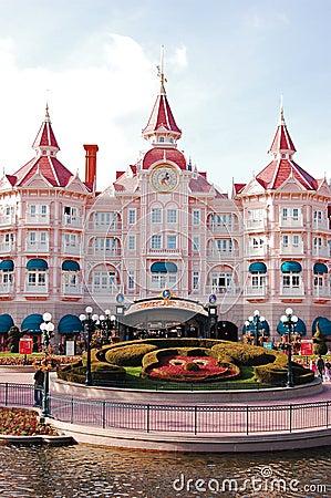 Disneyland Park in Paris Editorial Stock Image