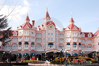 Disneyland Park in Paris Editorial Photo