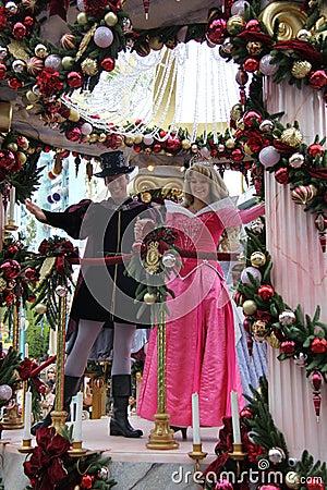 Disneyland Princess - Aurora Editorial Photo