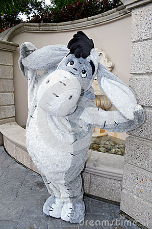 Disneys Eeyore Editorial Photo