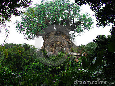 Disneyworld Animal Kingdom Tree of Life 2 Editorial Photography