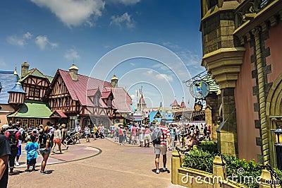 Disneyworld town center Editorial Photo