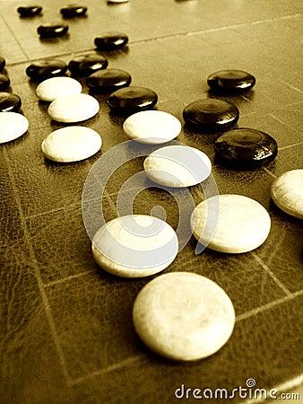 Disparaissent le jeu ou le Weiqi