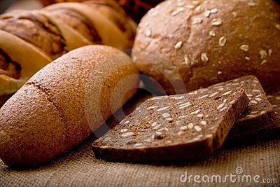 Display of bread