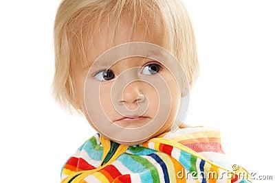 Displeased ребёнок