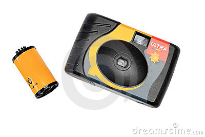 The disposable camera and film