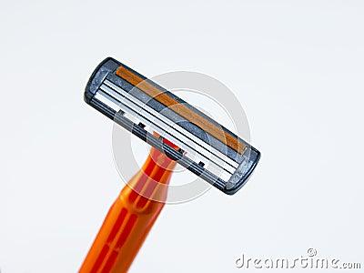 The disposable razor.