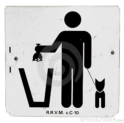 Dispose Pet Waste Sign